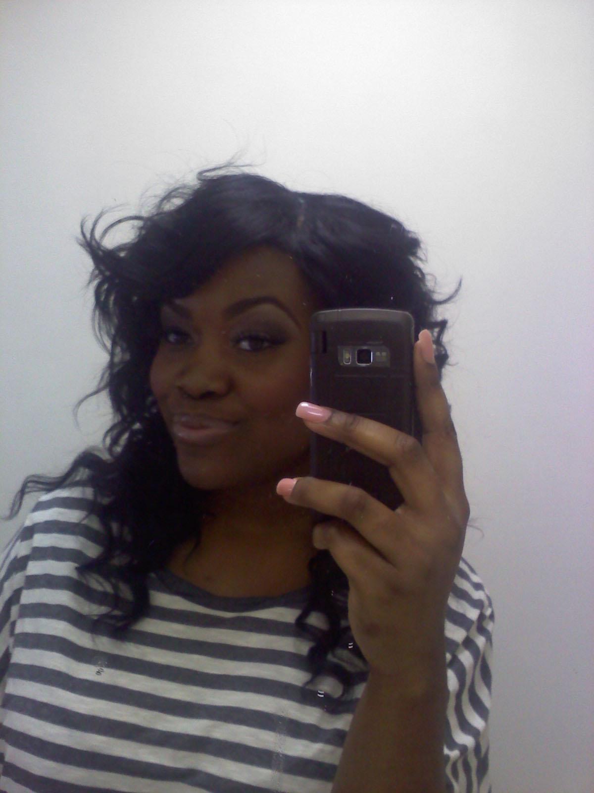 Quick Weave Hairstyles Miss Nics Elegant Edge